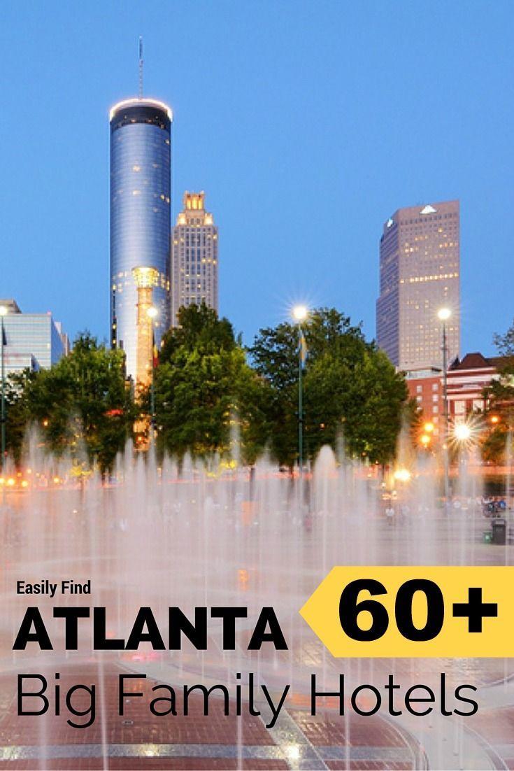 Atlanta big family hotels for 5 6 7 8 big family