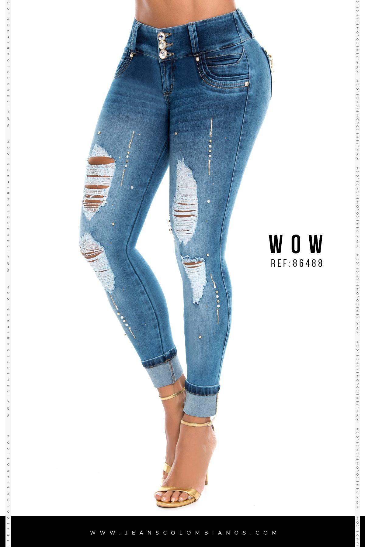 52883cb180c4 Jeans Wow86736 en 2019   jeans   Pantalones vaqueros mujeres, Jeans ...