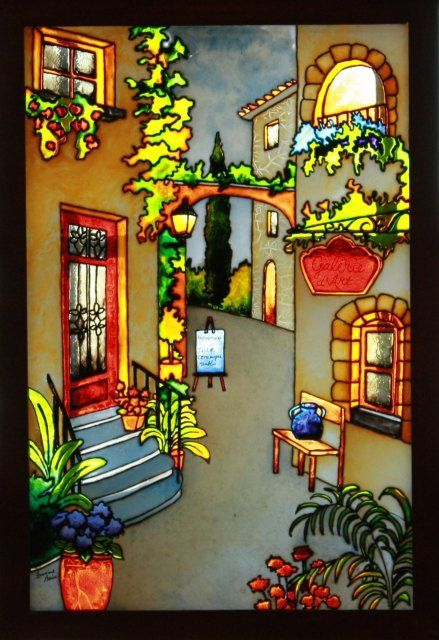 Faux vitrail patrons gratuits recherche google surprenant stained glass art fused glass - Dessin vitraux ...