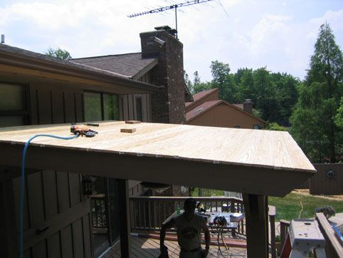 Metal Slanted Roof Idea For Porch Click On The Picture