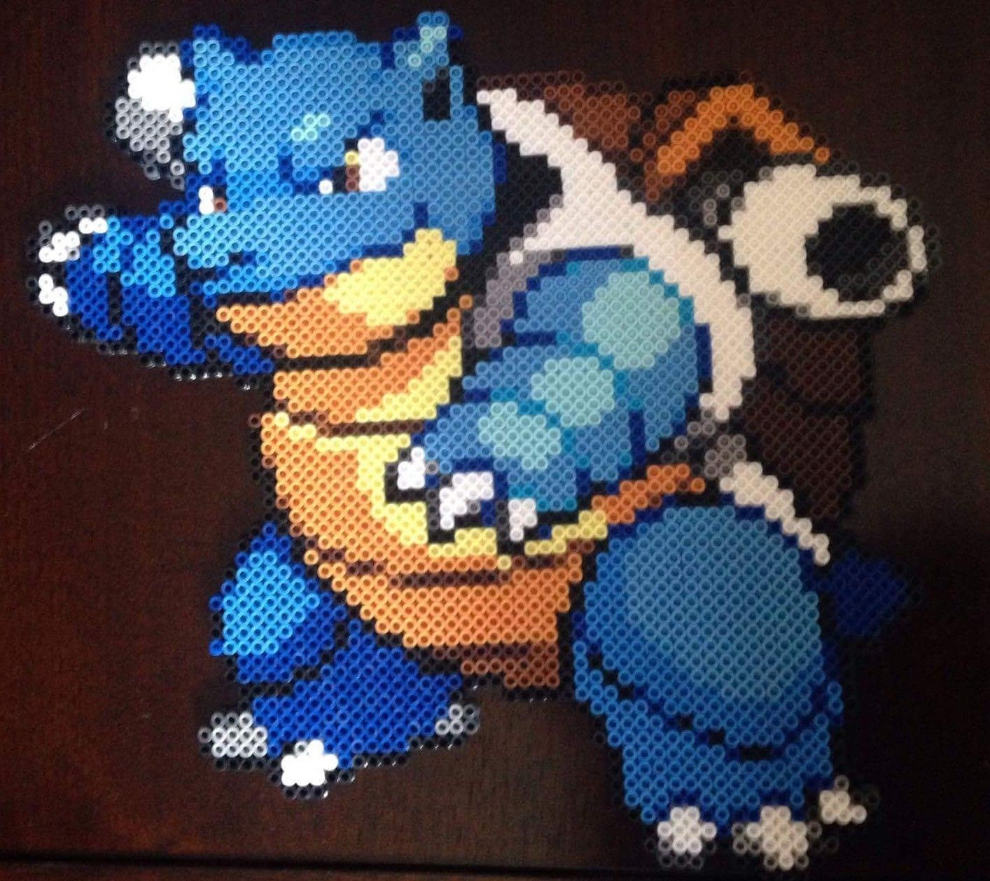 Blastoise | Pokemon | Pinterest | Perler beads and Beads