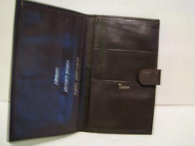 Vintage  Leather Bond Street TRAVEL WALLET  BROWN