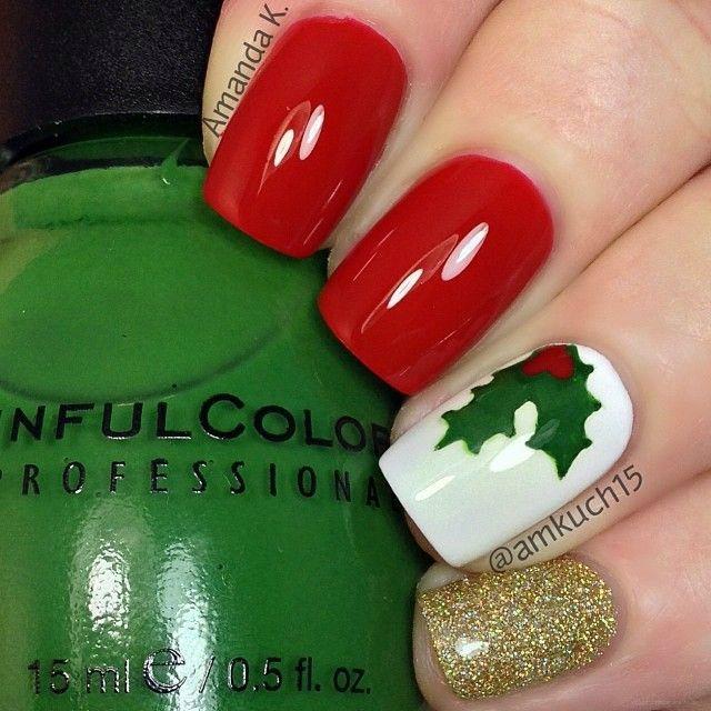 nail ideas | uñas | Pinterest | Uñas navidad, Arte de uñas y Uña ...
