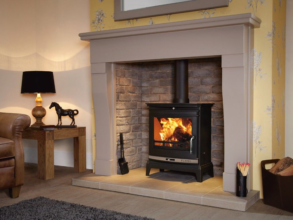 7kw Flavel Rochester Multifuel Stove