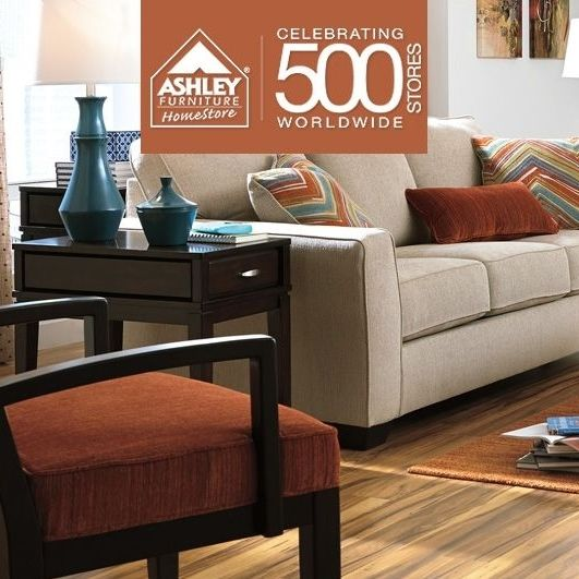 Ashley Furniture Homestore Is Celebrating 500 Stores Worldwide This Year And What A Better Way