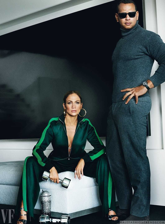 45e3e3270d Male Fashion Trends  Jennifer Lopez y Alex Rodriguez con una pareja de lujo  para Vanity Fair