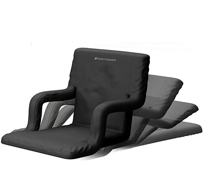 Amazon Com Home Complete Stadium Seat Chair Wide Bleacher