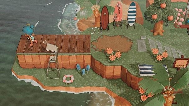 Island Ideas Inspiration On Instagram Peninsula Inspiration What Theme Does Your P In 2020 New Animal Crossing Animal Crossing 3ds Animal Crossing Guide