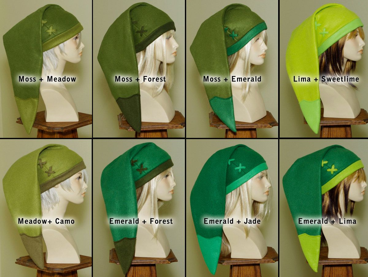 Legend of zelda handmade custom link hat cosplay pinterest cosplay