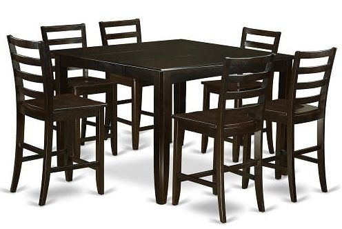 First Class 7 Piece Counter Height Dining Room Sets On Amazon