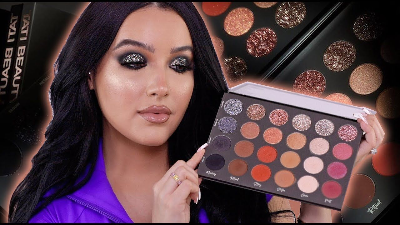 PURCHASED TATI BEAUTY PALETTE REVIEW + SWATCHES YouTube