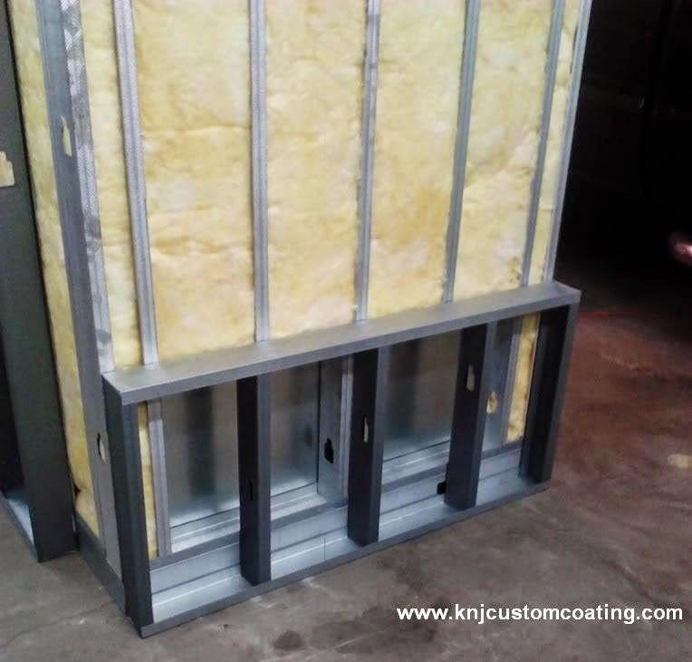 Powder coating oven insulation Powder coating oven