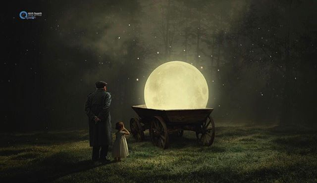 PotD: January 24, 2017 Title: Món quà của ông Photographer: Ninh Huynh #fstoppers #Children #conceptual #fineart #composite #moon #fineartphotography #childrenphotography #compositephotography #NinhHuynh Learn how to be featured at fstoppers.com/potd-selection