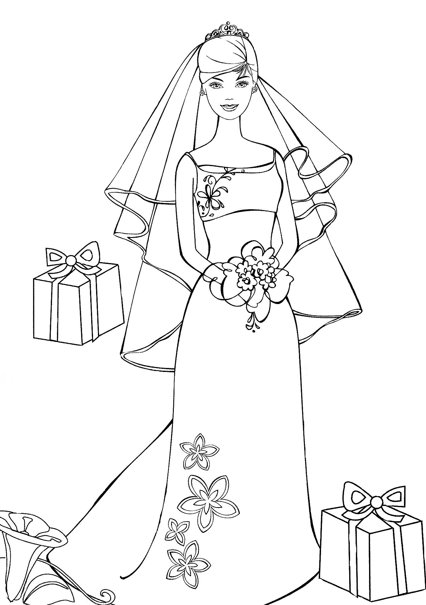 Pin By Lori Reynolds On Barbie Coloring Part 2 Barbie Coloring Pages Coloring Pages Coloring For Kids