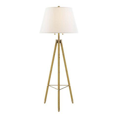 Irwin Floor Lamp In Birch Floor Lamps Lighting
