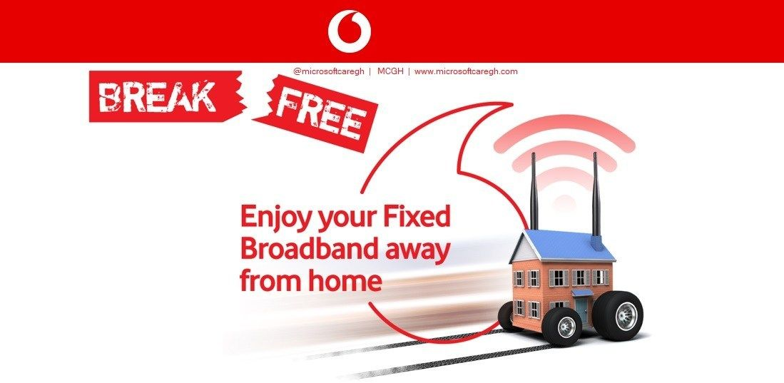 Review Vodafone Ghana Fixed Broadband Data Sharing With Mobile Number Mobile Data Broadband Broadband Services
