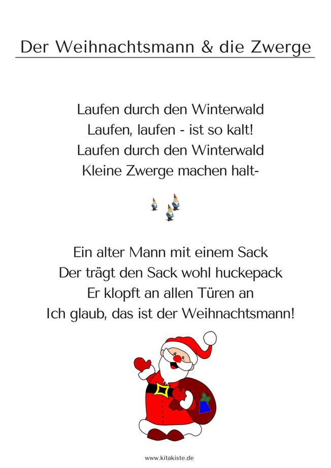 Weihnachtsgedichte Für Kinder Grundschule.Winter Kita Kiste Lieder Für Kita Und Grundschule Nikolaus