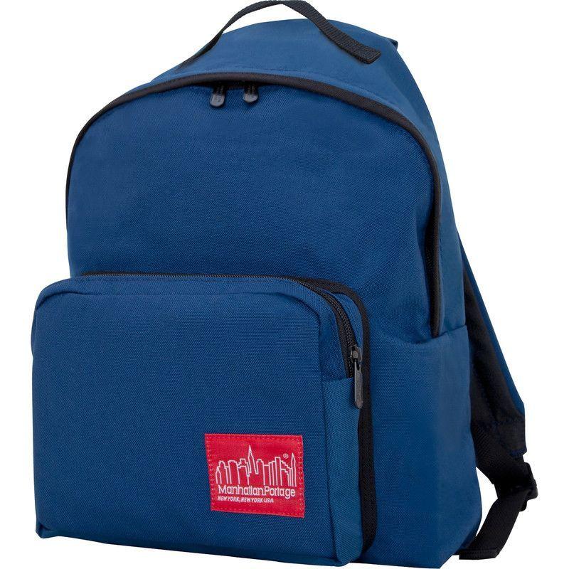 Manhattan Portage Medium Big Apple Backpack | Navy