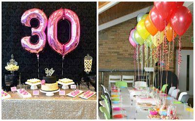 ideas para decorar una fiesta de cumpleaos nmero
