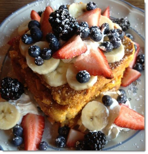 Looks Delish....Captain Crunch French Toast @ Blue Moon