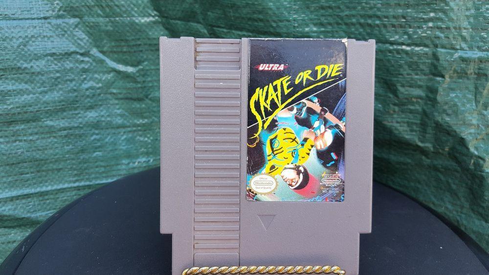 Skate Or Die 1 For Original Nintendo Nes Game Only Nintendo Nes Games Nes Games Nintendo Nes