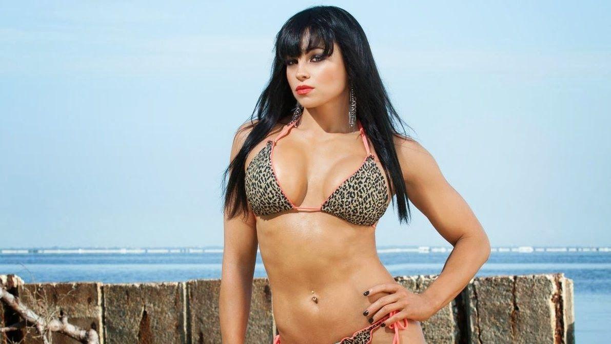 Aksana Hot Wwe Diva Aksana Hot And Sexy Bikini Pictures