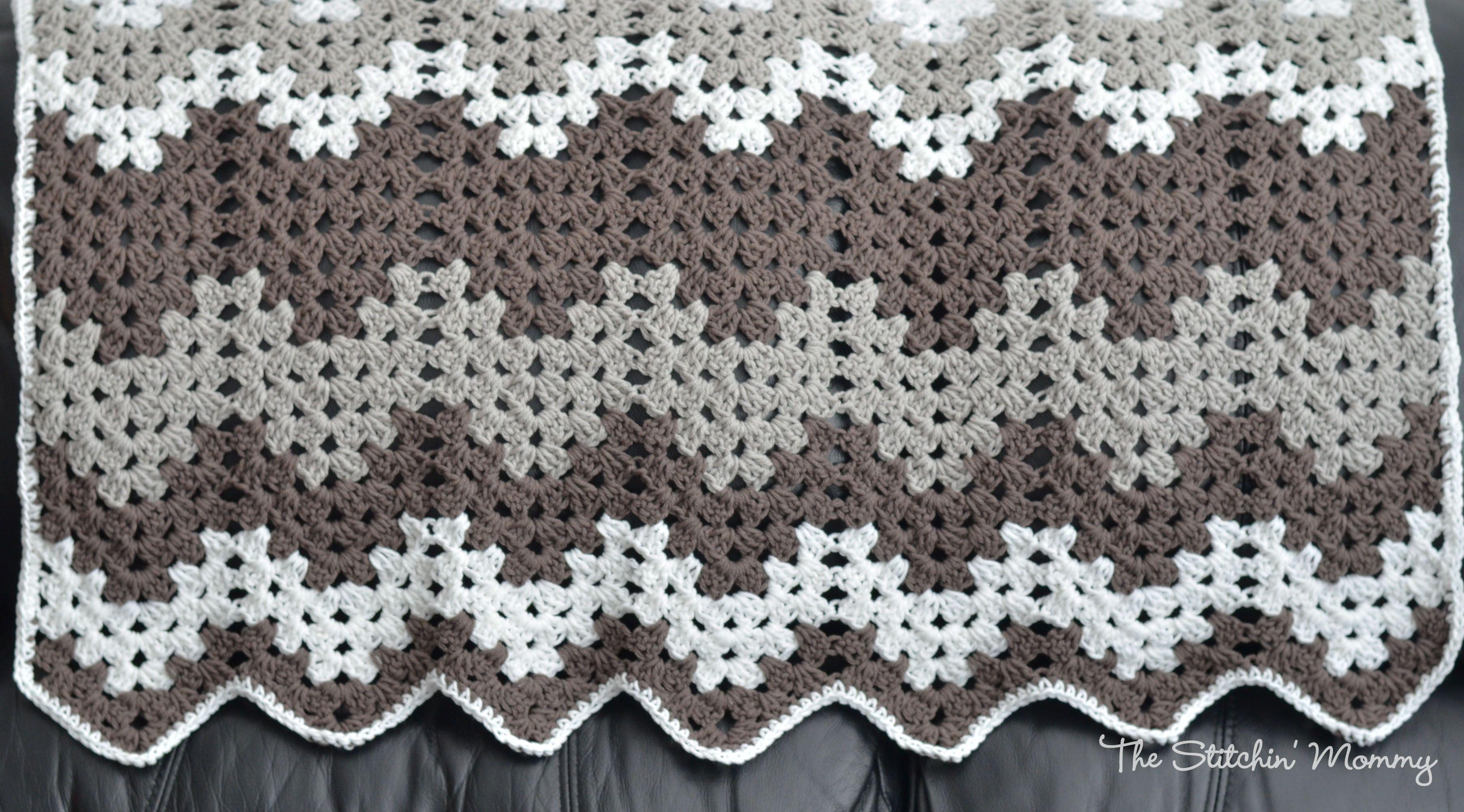 Granny Ripple Blanket Crafts Crochet Pinterest Crochet