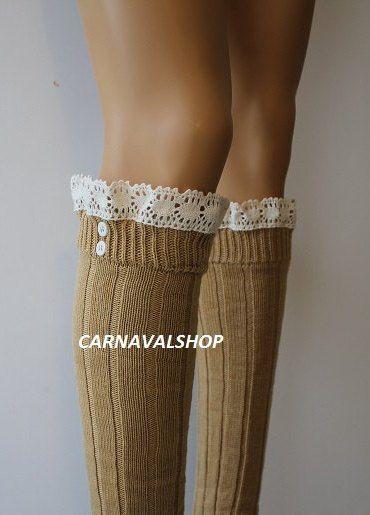 de1018c66850b Mustard Leg Warmers - lacy leg warmers - womens leg warmers - winter leg  warmers