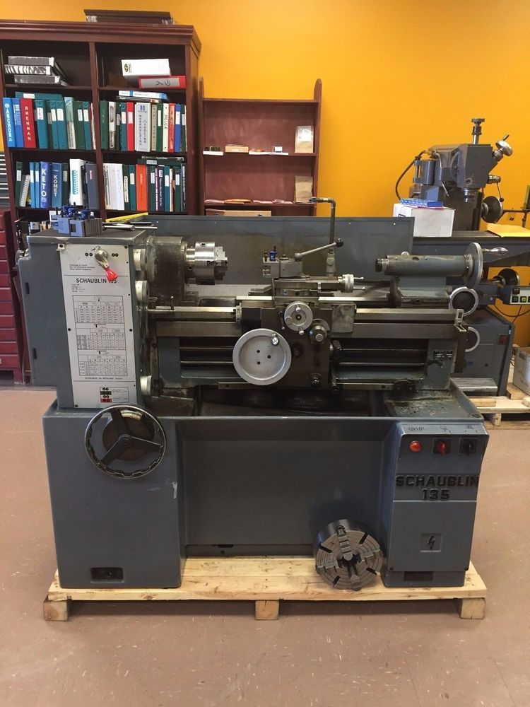 Used Lathes Engine Lathe For Sale Precision Lathes Tool Room >> Schaublin 135 Precision Toolroom Lathe Swiss Made Machine