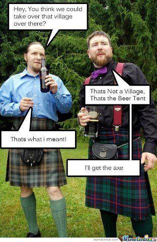 Scottish Invasion Scotland Funny Kilts Scotland Funny Worlds