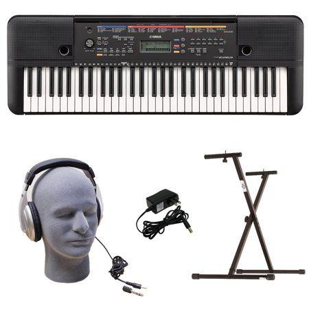 23b0a044759 Yamaha PSR-E263 PKY 61-Key Keyboard Pack with Headphones