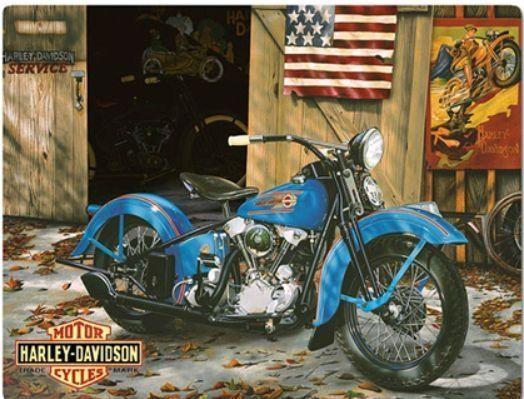 Harley-Davidson® Tin Sign Collection Genuine WL Embossed. 2010541