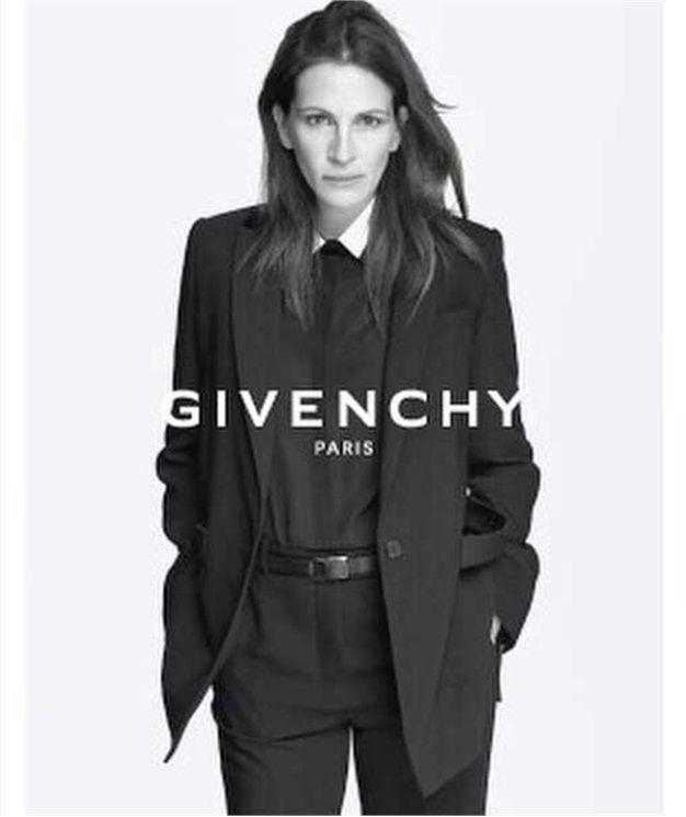 奧斯卡影后與高端品牌的時尚結合:Julia Roberts將出鏡Givenchy 2015早春廣告 - The Femin