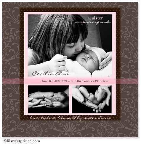 55 best ideas about Big sister – Big Sister Birth Announcement