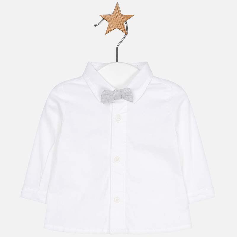 Koszula Z Dlugim Rekawem I Muszka Dla Chlopca Newborn Srebrny Fashion Chef Jackets Jackets
