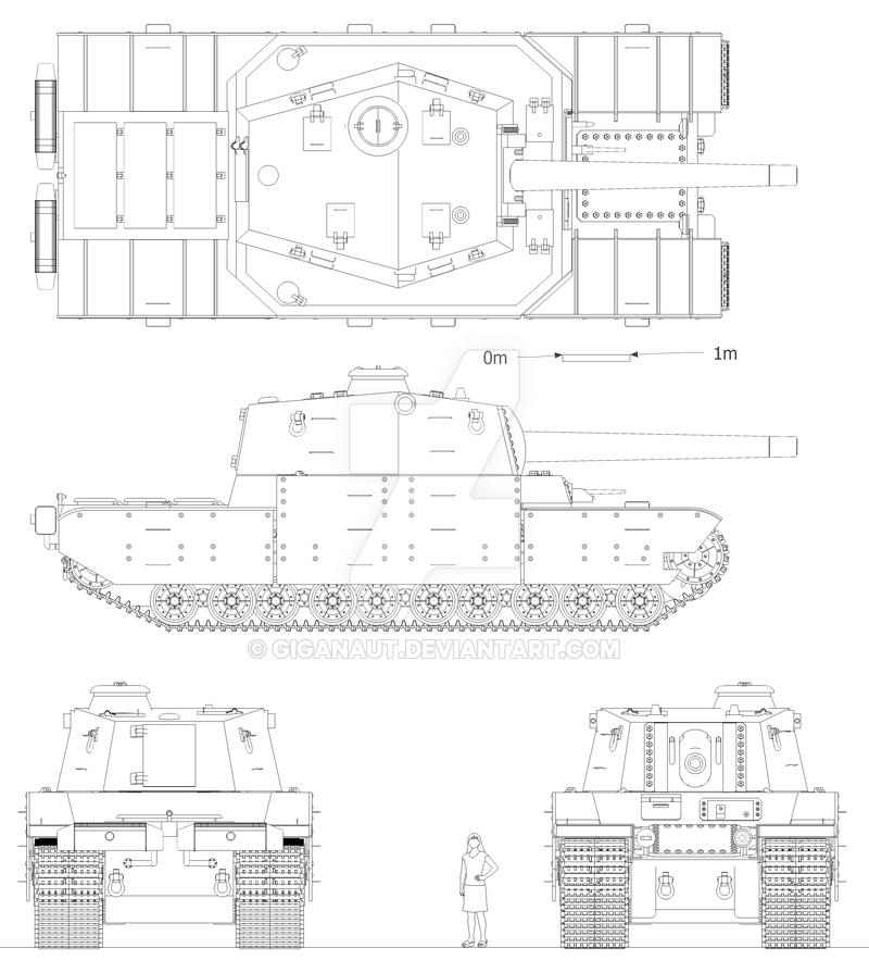 как по фото танка сделать чертеж это наш дом