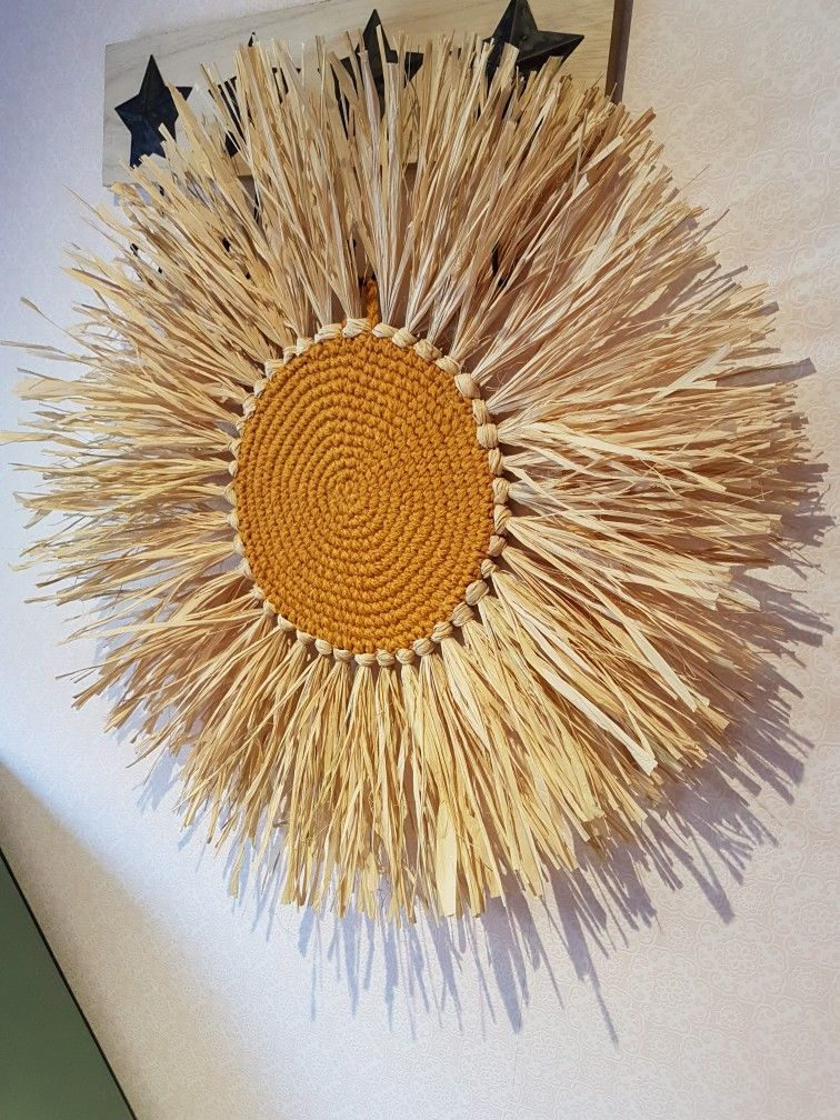 Modern Art Embroidery Hoop Mid Century Decor Boho Decor Wall Decor Fiber Art Sculpture
