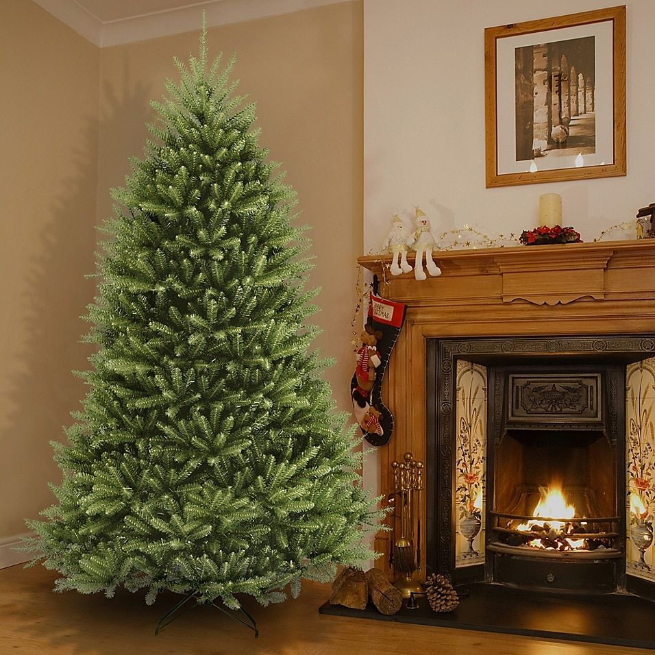 National Tree Dunhill Fir Christmas Tree Bed Bath Beyond Best Artificial Christmas Trees Unlit Christmas Trees Fir Christmas Tree