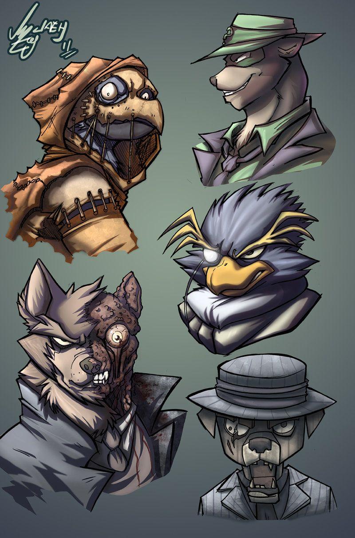 Bat Villains Animalistic 1 Deviantart Heroes &