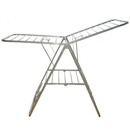 Heavy Duty Stainless Steel Foldable Clothes Drying Rack Laundry