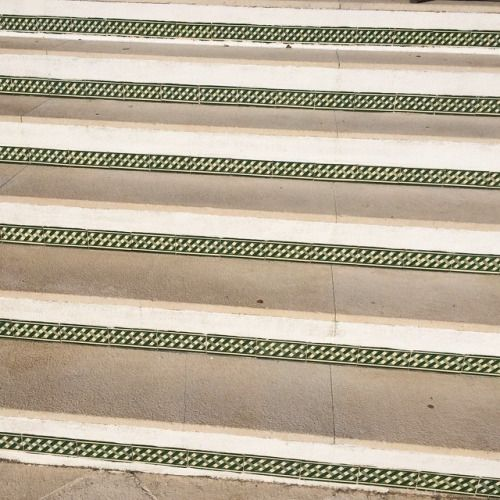 Détail d'escalier portugais