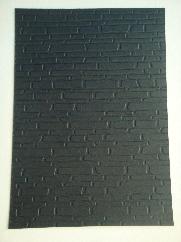 Decoupe Fond De Carte Noir Embosse Mur