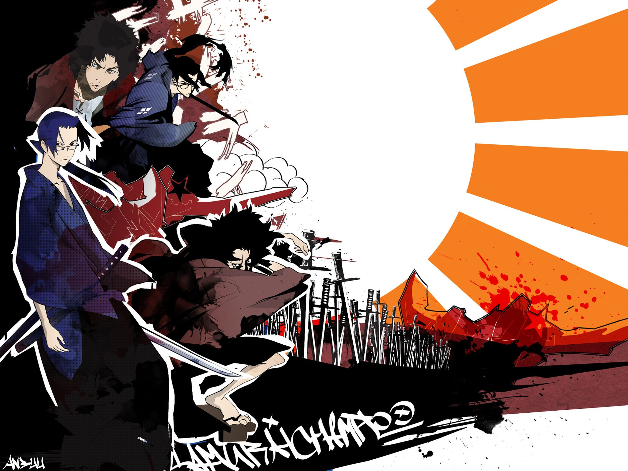 78 Samurai Champloo HD Wallpapers Backgrounds