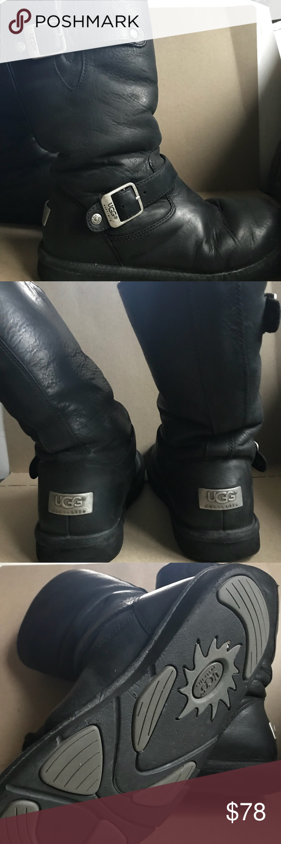 Black comfy and super clean UGG Boots  8f9118c5b