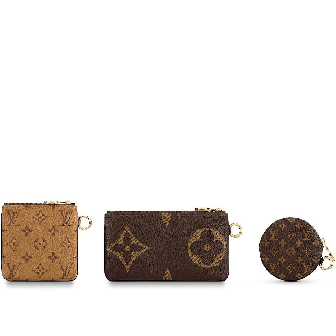 Trio Pouch Wristlet Belt Bag Set In Monogram Louis Vuitton In 2020 Louis Vuitton Vuitton Louis Vuitton Store