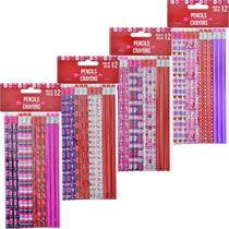 Valentine's-Themed #2 Pencils, 12-ct. Packs