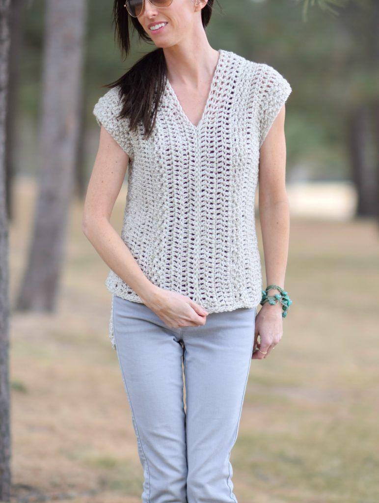 The \'Topcho\' Easy Crochet Shirt Pattern | Crochet shirt, Easy ...