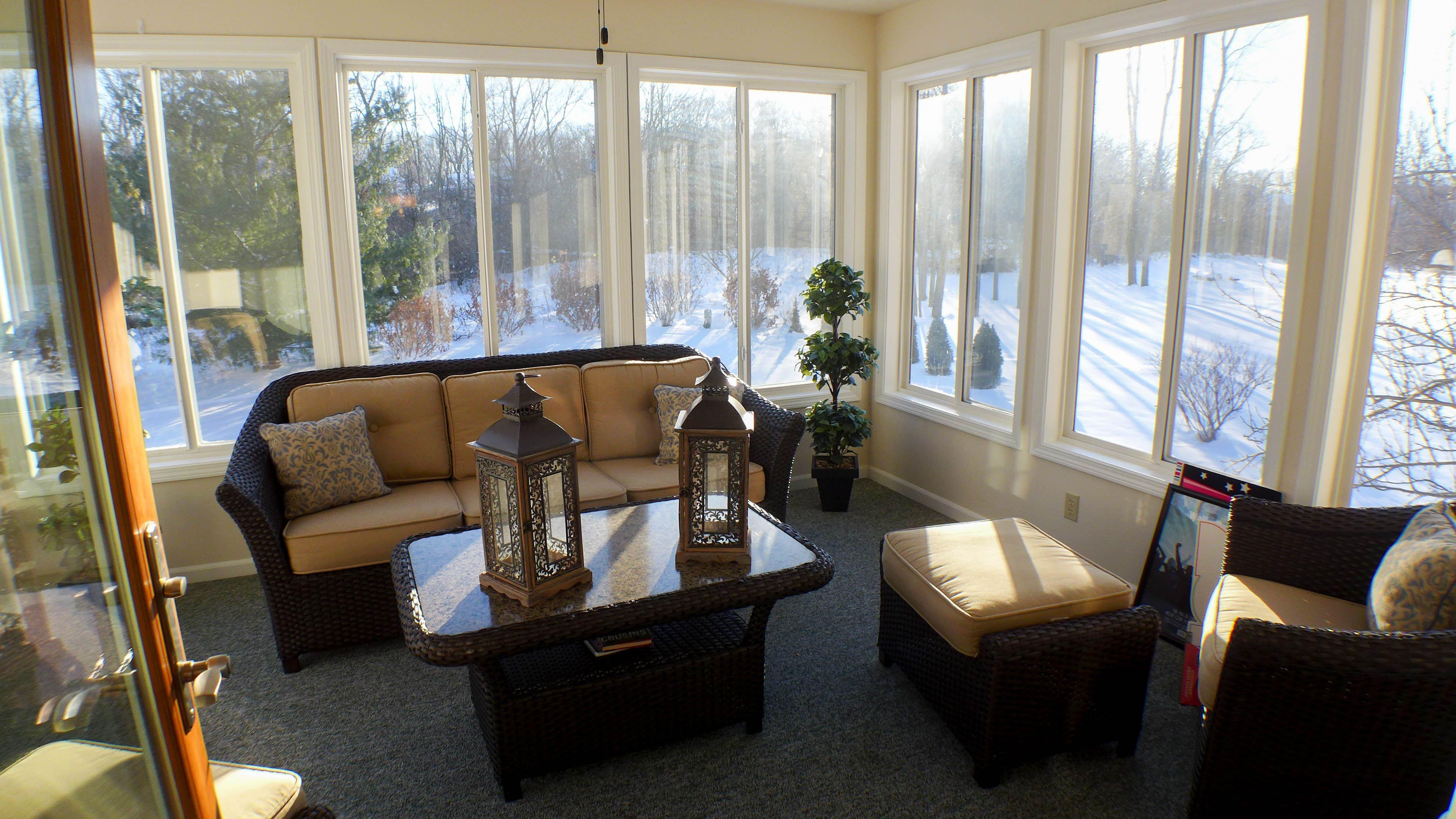 Sunroom Idea For Bi Level Or Split Level House Home Remodeling Home Decor House Design