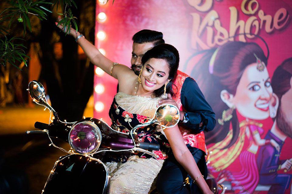 Uber Fun Bangalore Wedding by 3Production Weddings