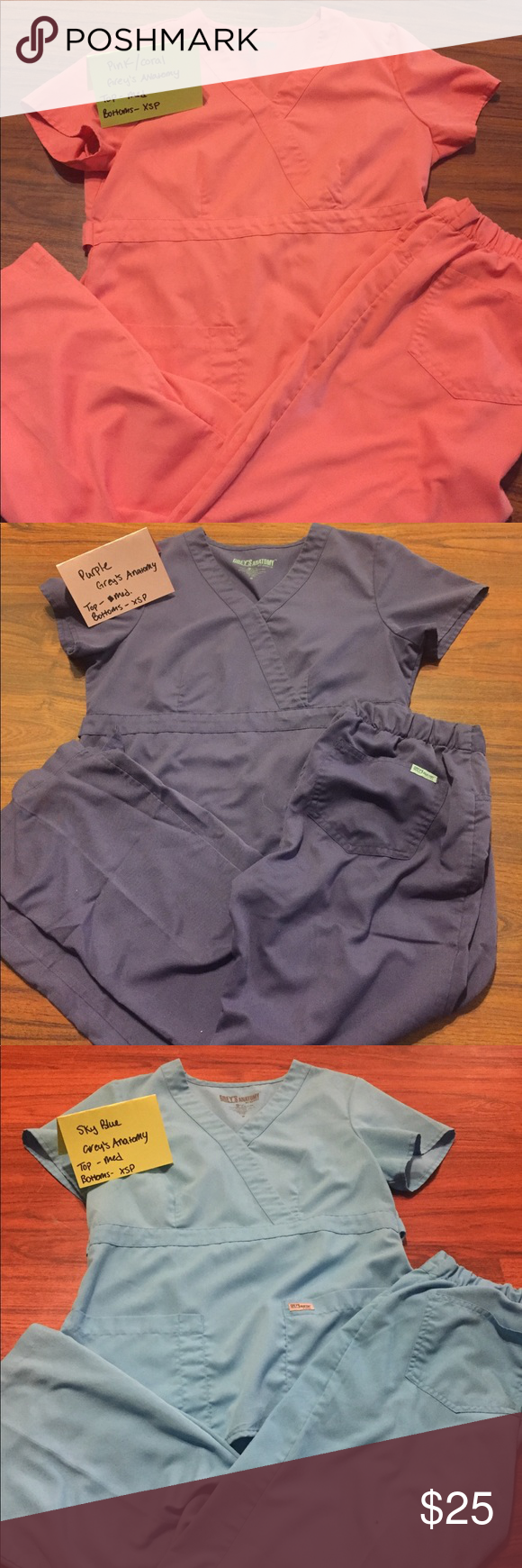Greys Anatomy Scrubs Scrub sets- $25 Single tops- $20 ...